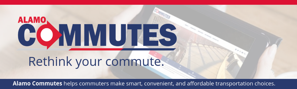 Alamo Commutes helps commuters make smart, convenient, and affordable transportation choices.