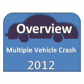 2012 Multiple Vehicle Crash Overview icon