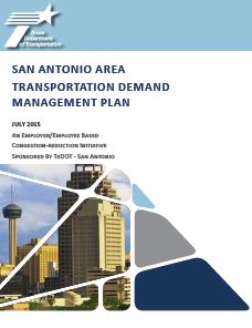 Cover of Travel Demand Management Plan